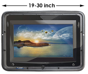outdoor tv enclosure for 19 inch to 30 inch tv